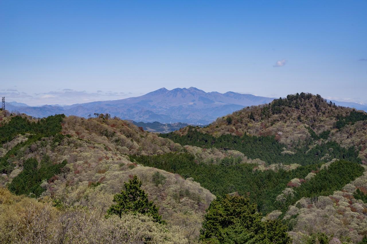 古賀志山から見た高原山