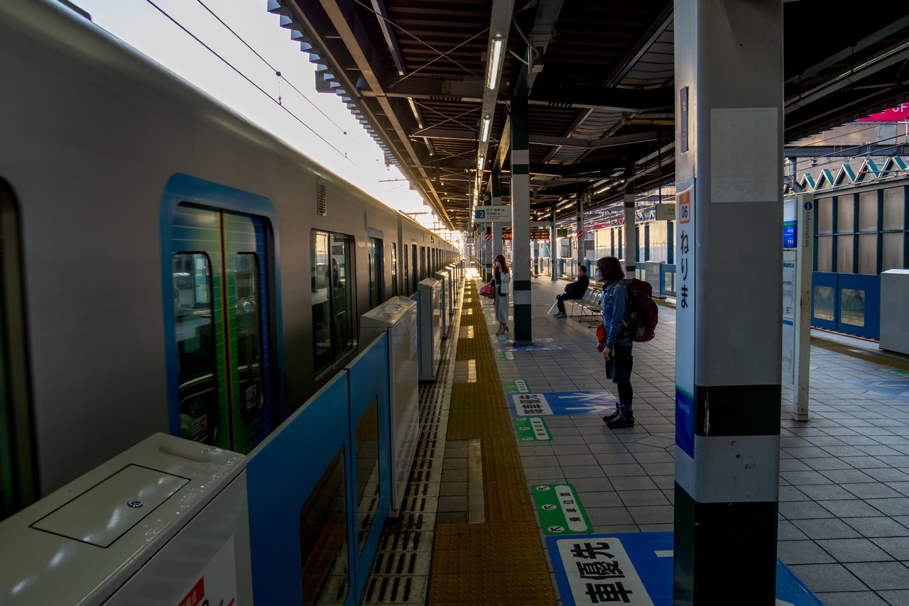 西武線 練馬駅のホーム