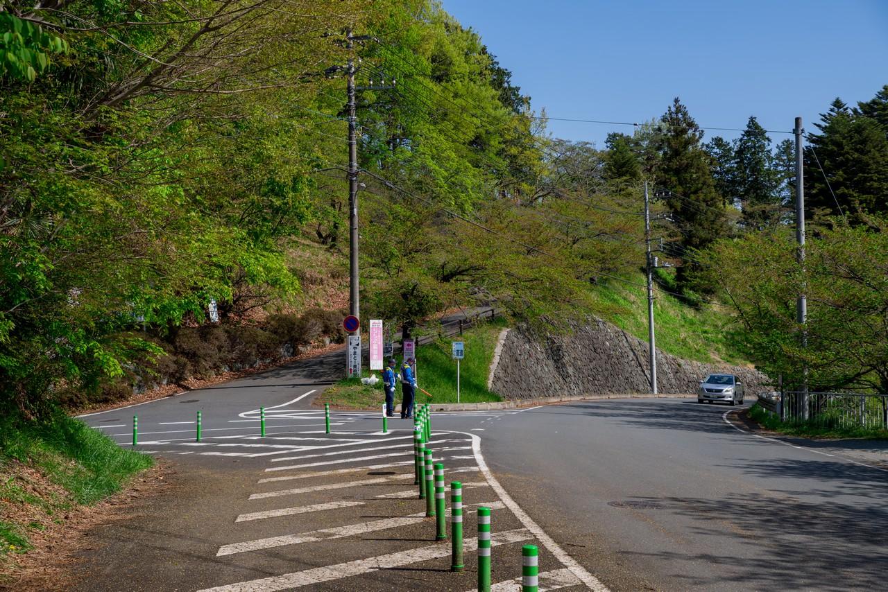羊山公園 見晴らしの丘