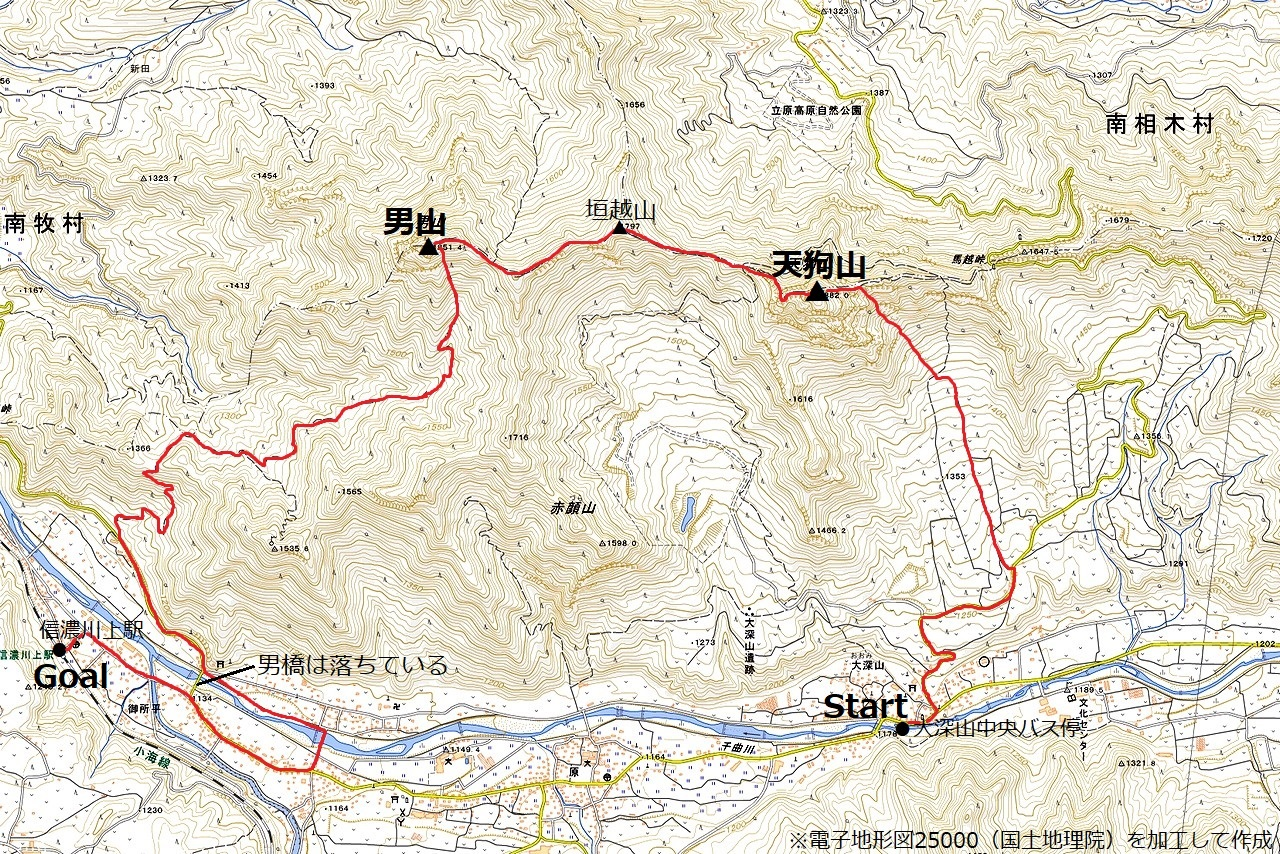 210504天狗山-map