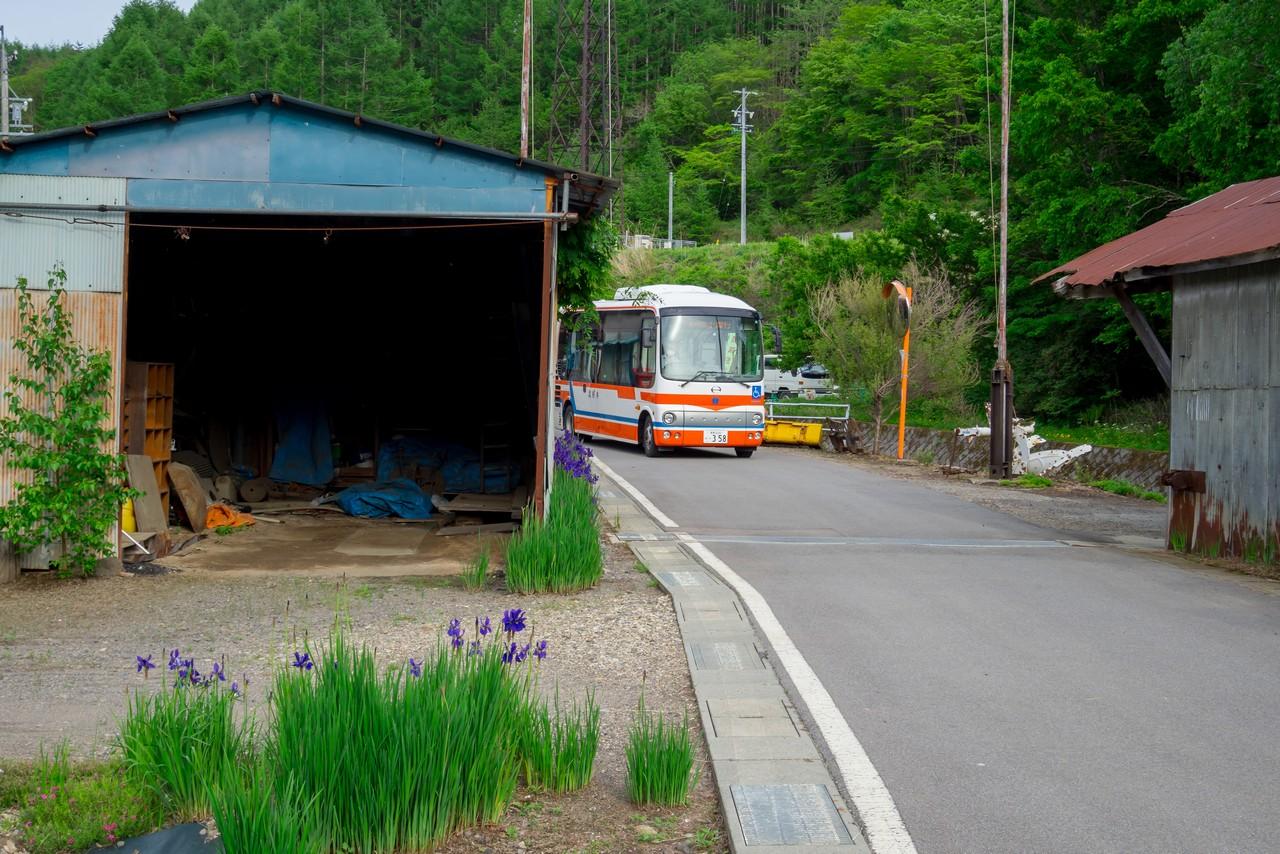 北相木村の村営バス