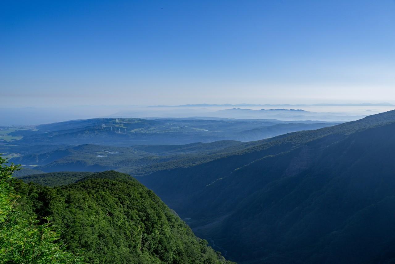 鳥海山 鉾立からの眺望