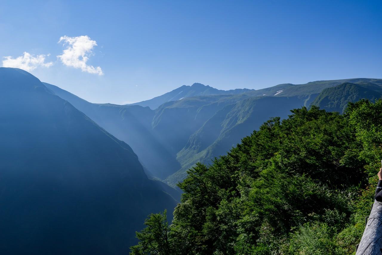 鉾立から見た鳥海山