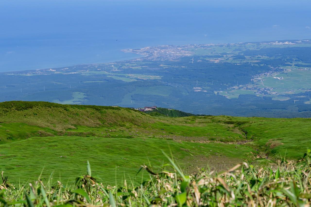 鳥海山 象潟口コースの登山道0