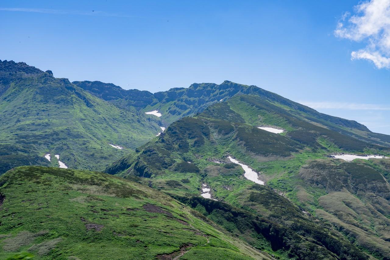 鳥海山の外輪山