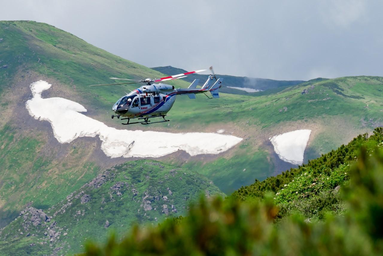 秋田県の消防防災ヘリコプター