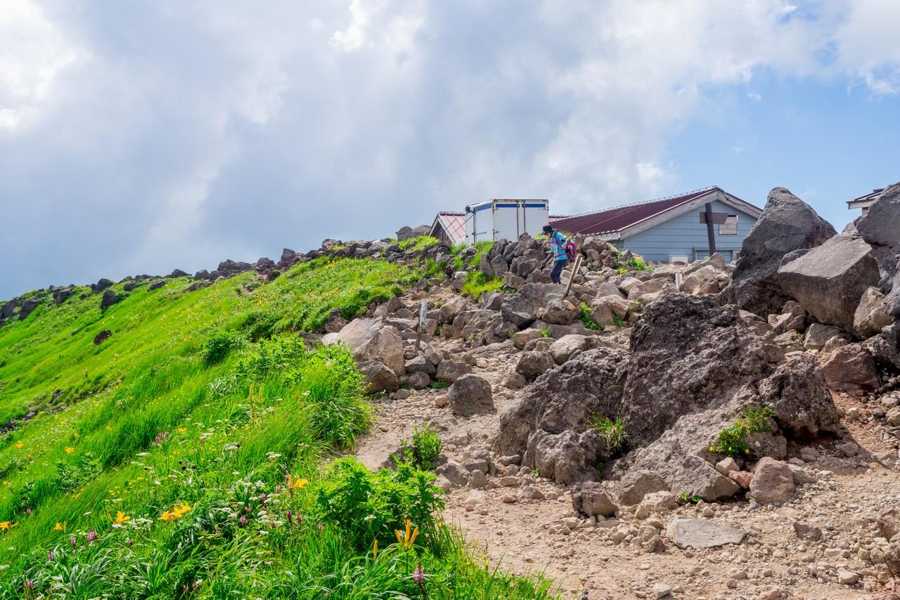 鳥海山 御浜小屋