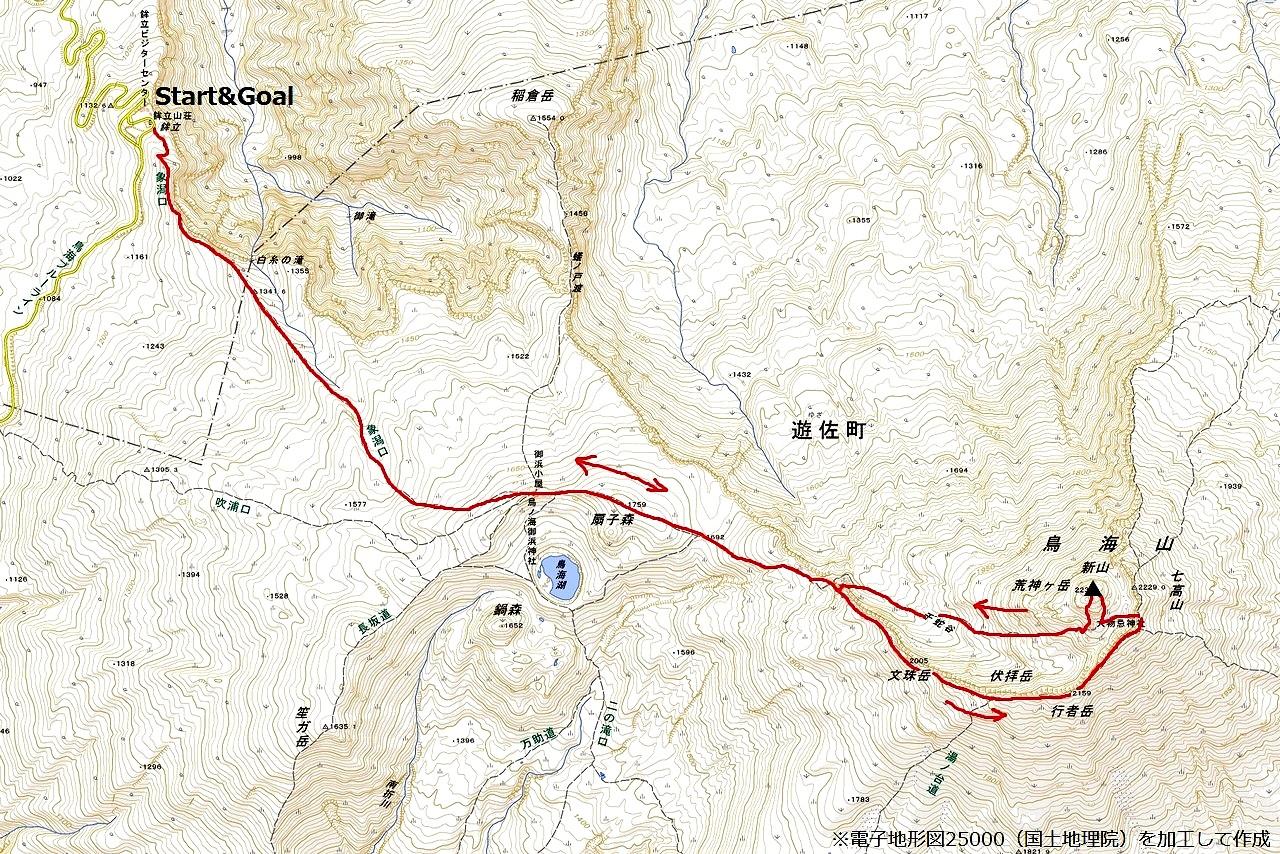 210718鳥海山-map