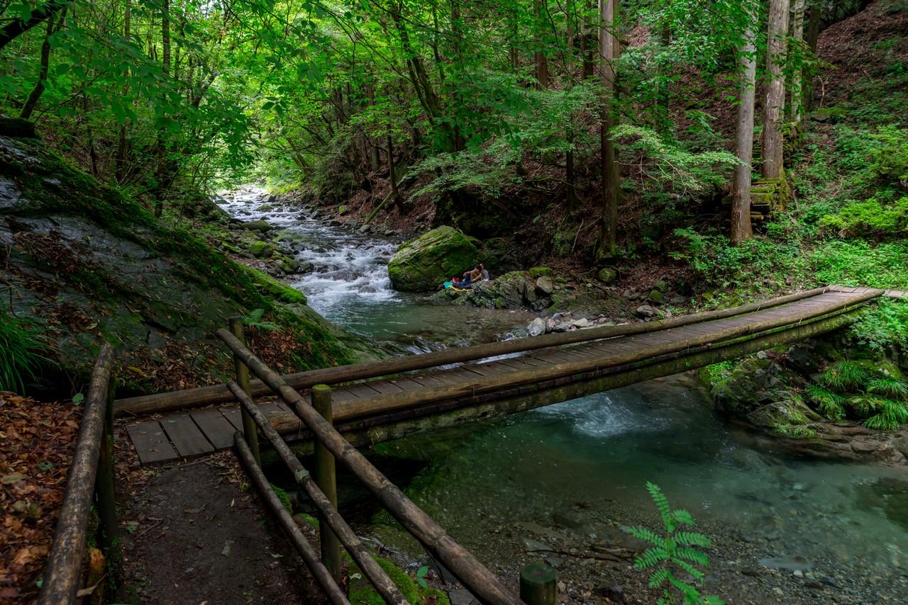 檜原村 竜神の滝