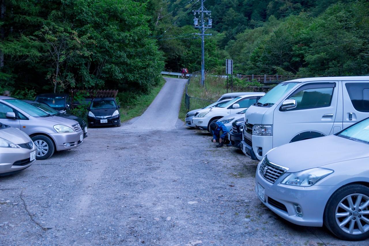 安曇野市営 第一駐車場