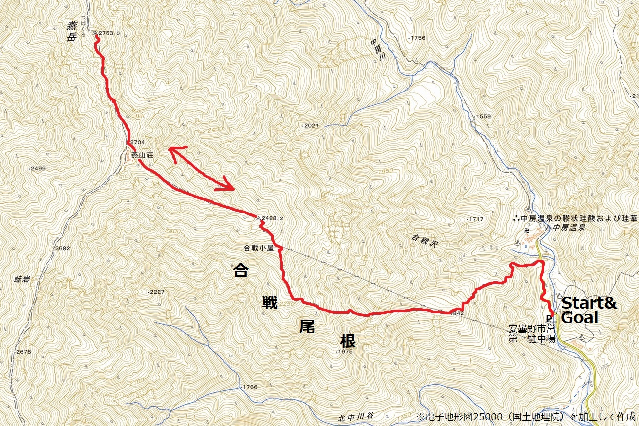 210912燕岳-map