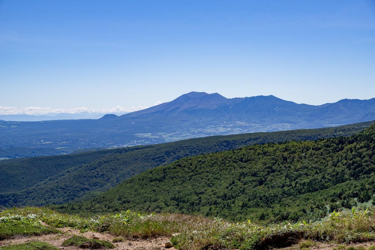毛無山から見た浅間山