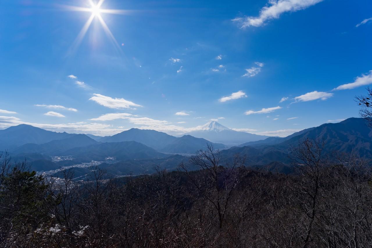 高川山からの富士展望