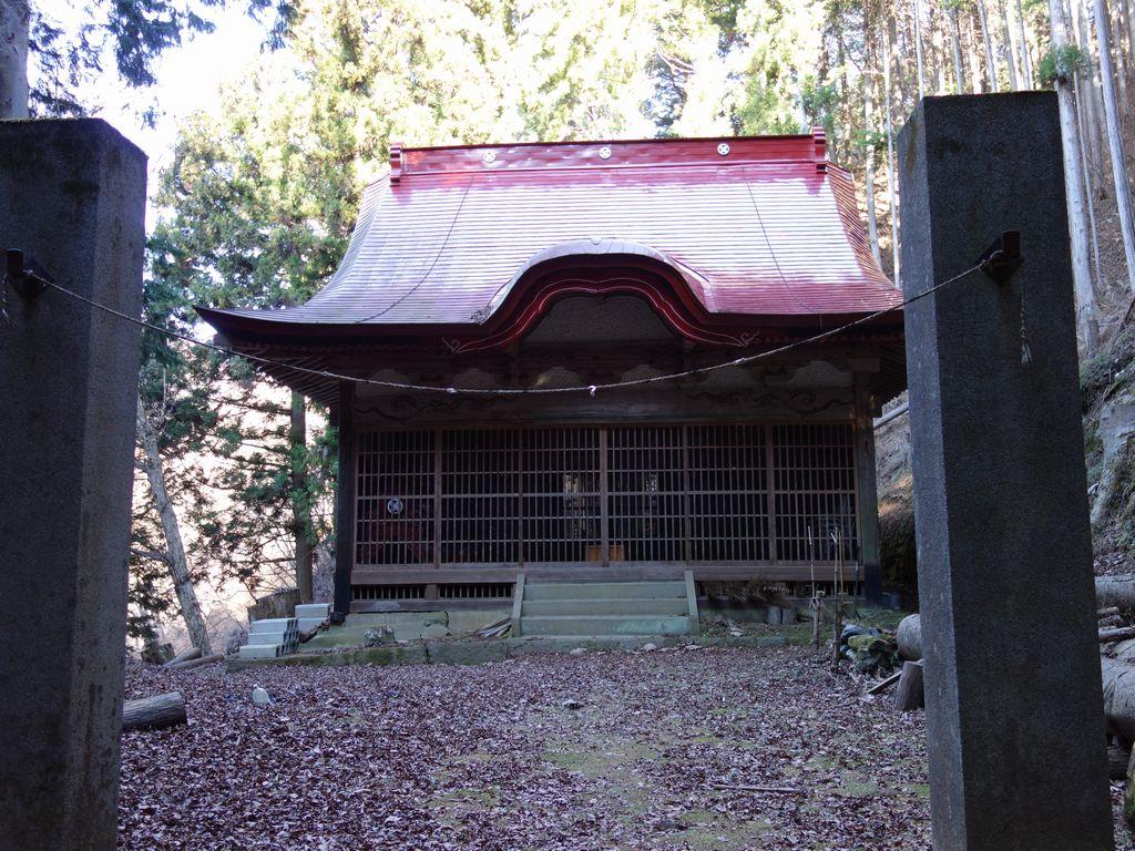 お坊山の氷川神社