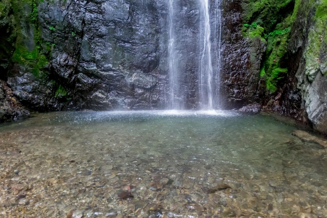 川苔山 百尋の滝の滝壺