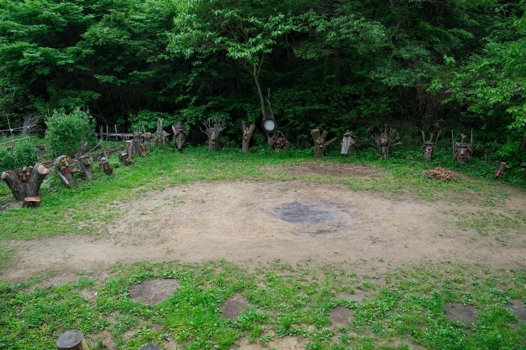 長池公園のクヌギ広場