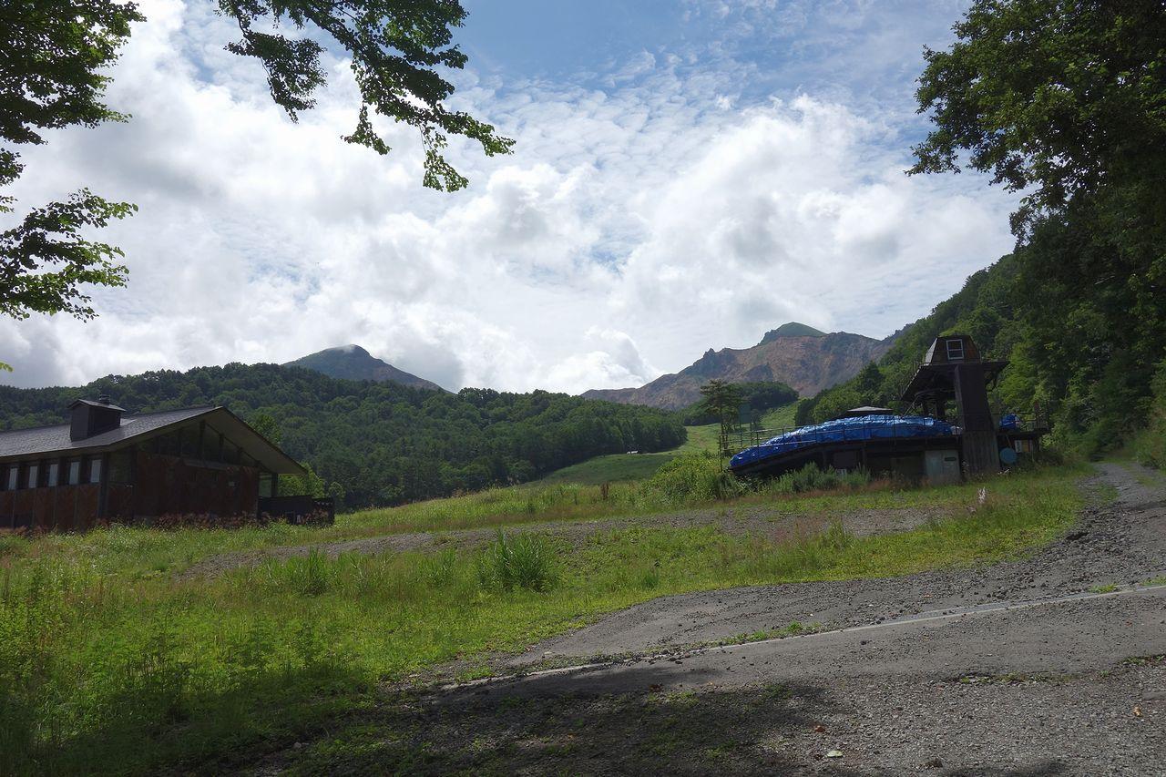 夏の裏磐梯スキー場