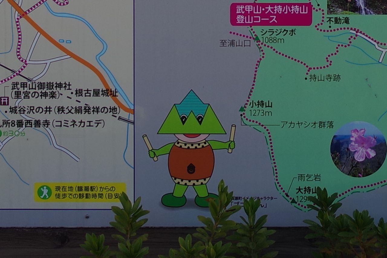 横瀬町のブコーさん
