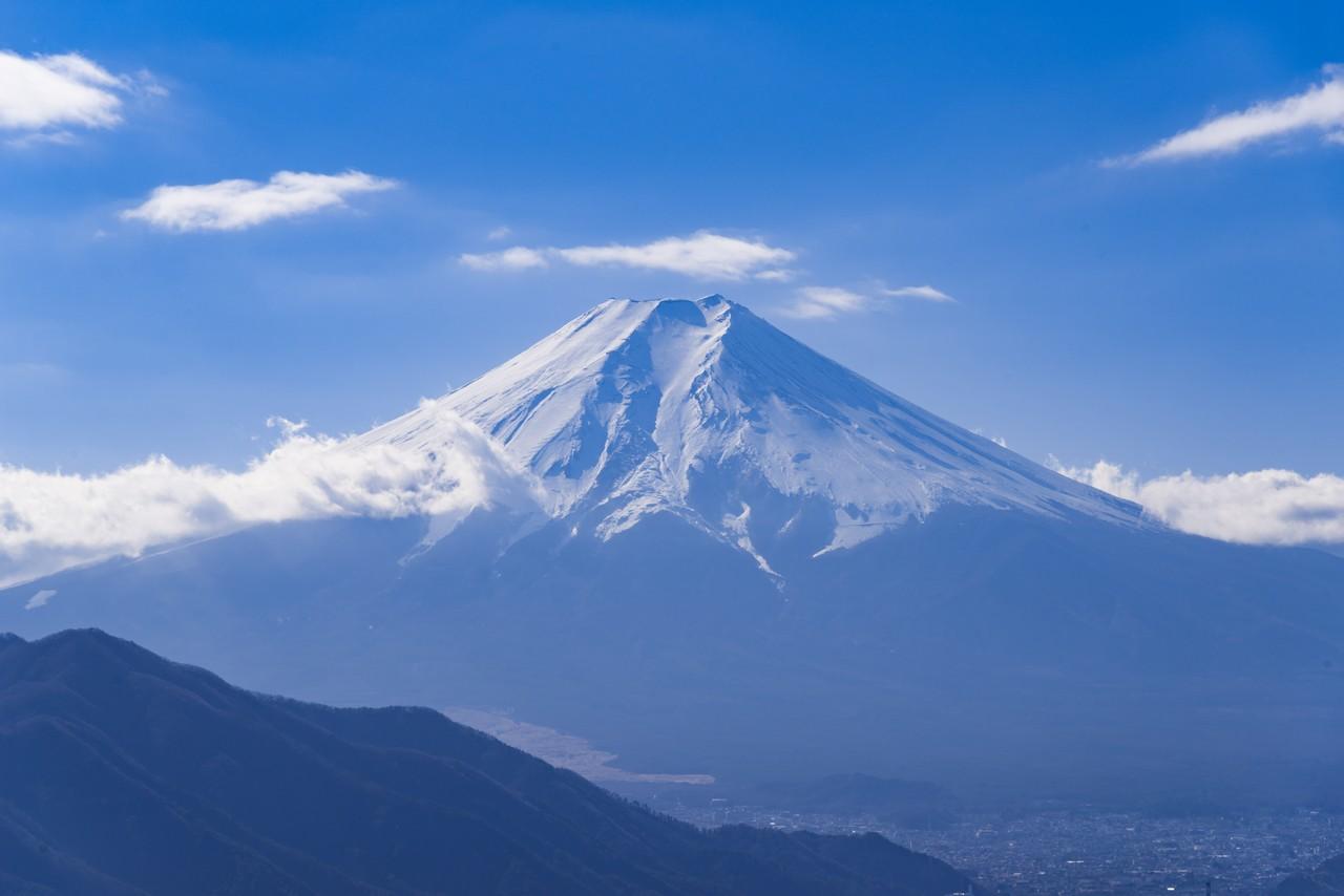 181216高川山_029高川山からの見た富士山