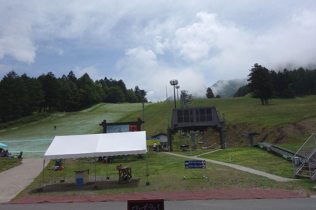 夏の丸沼高原スキー場