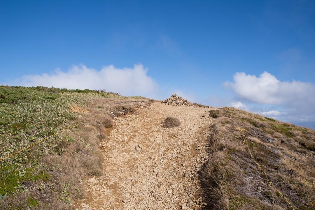 巻機山の本当の山頂