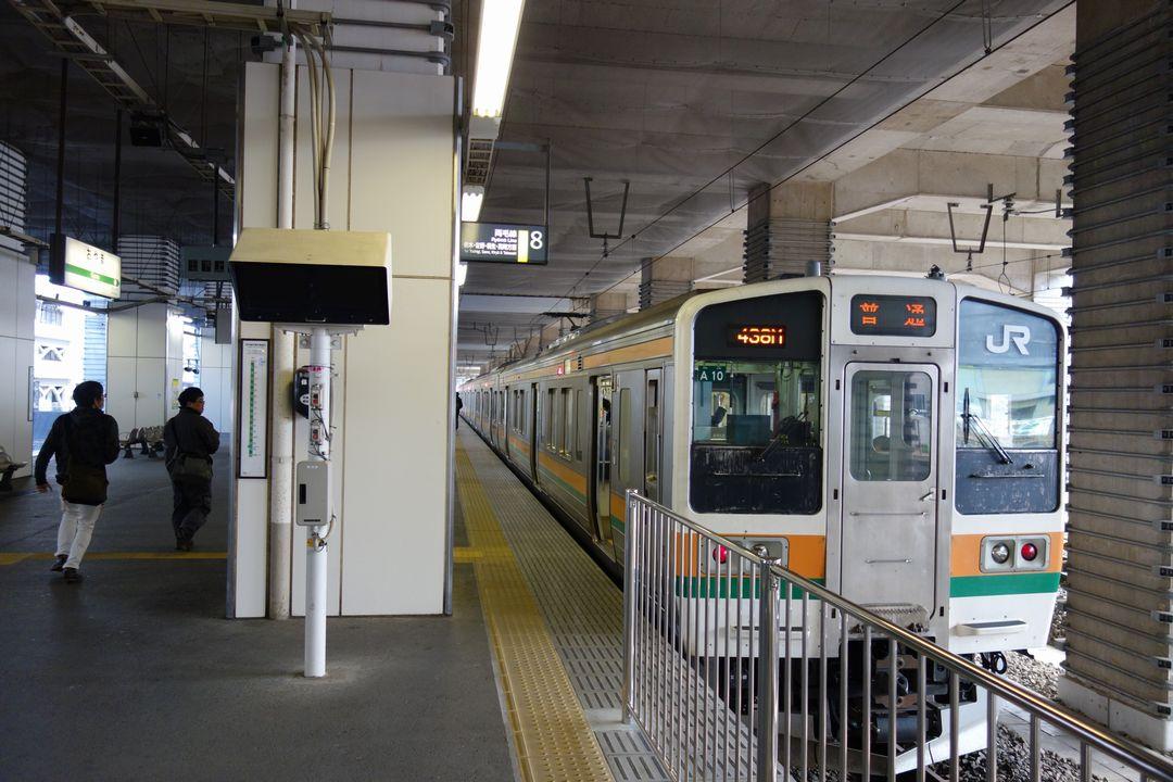 JR小山駅 両毛線ホーム