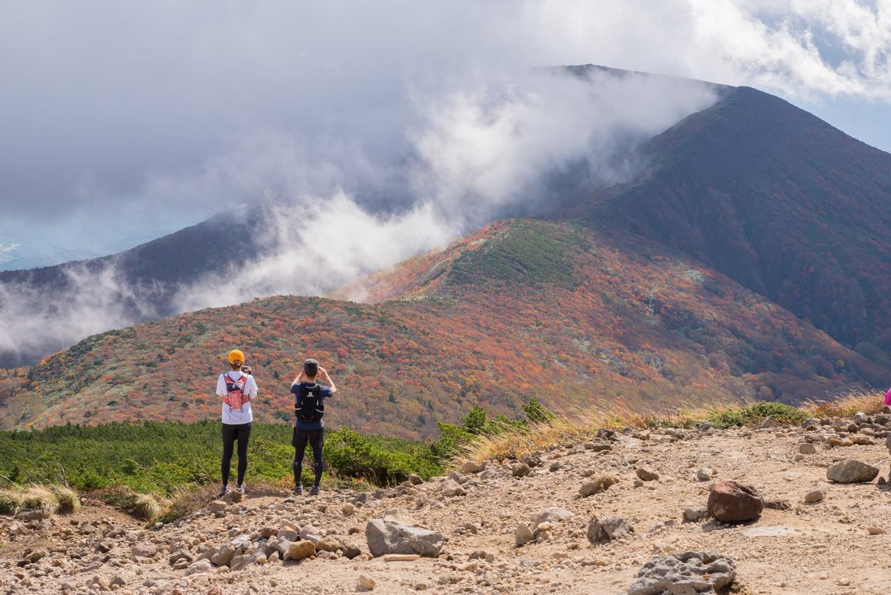 安達太良山から見た和尚山