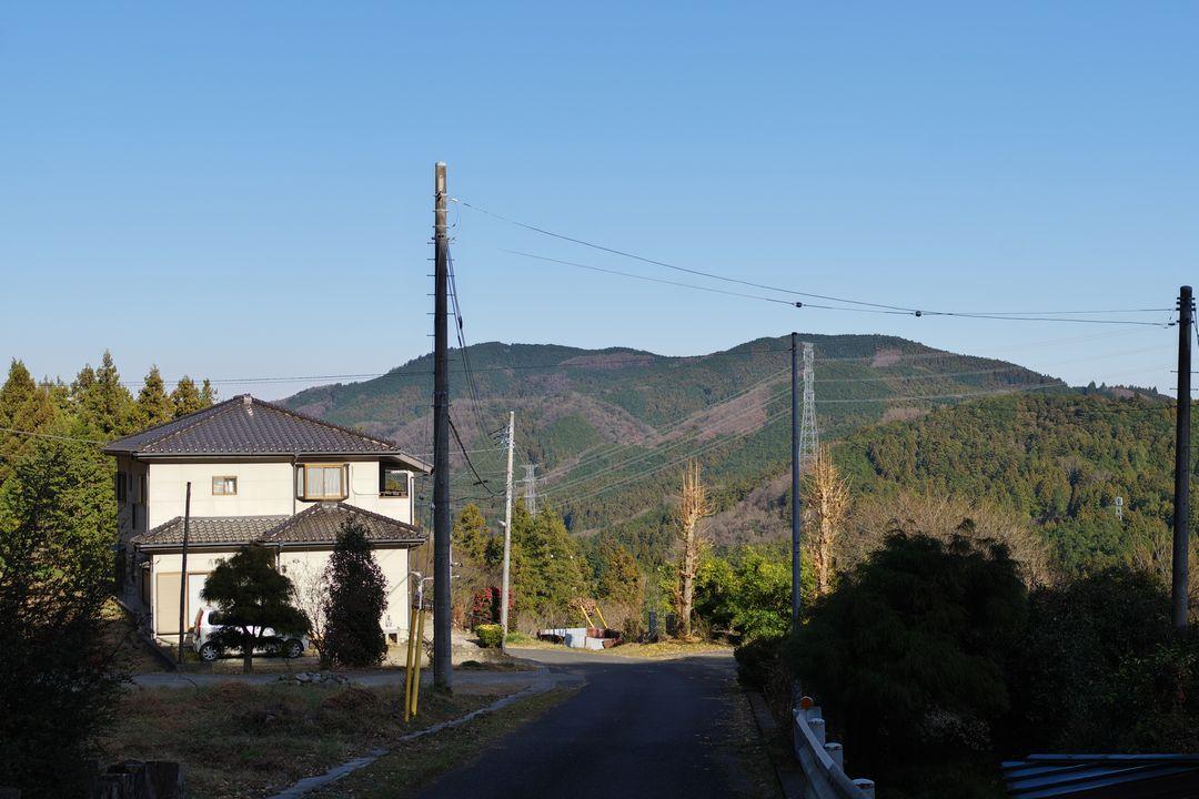 山間の黒山集落