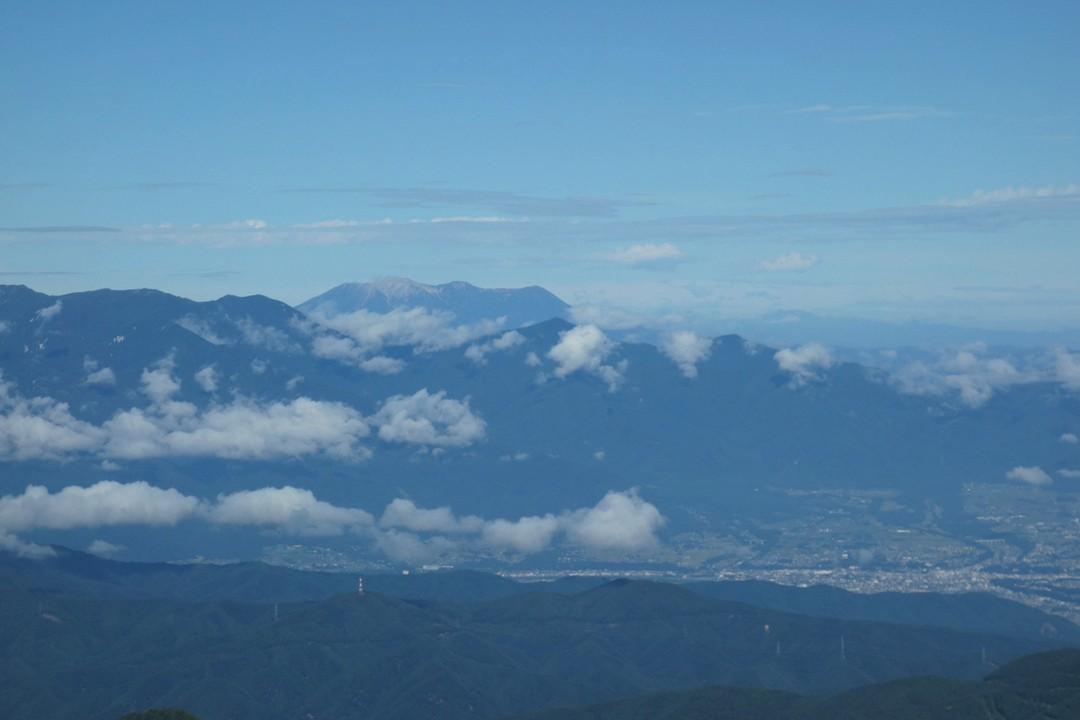 駒津峰から見た御嶽山