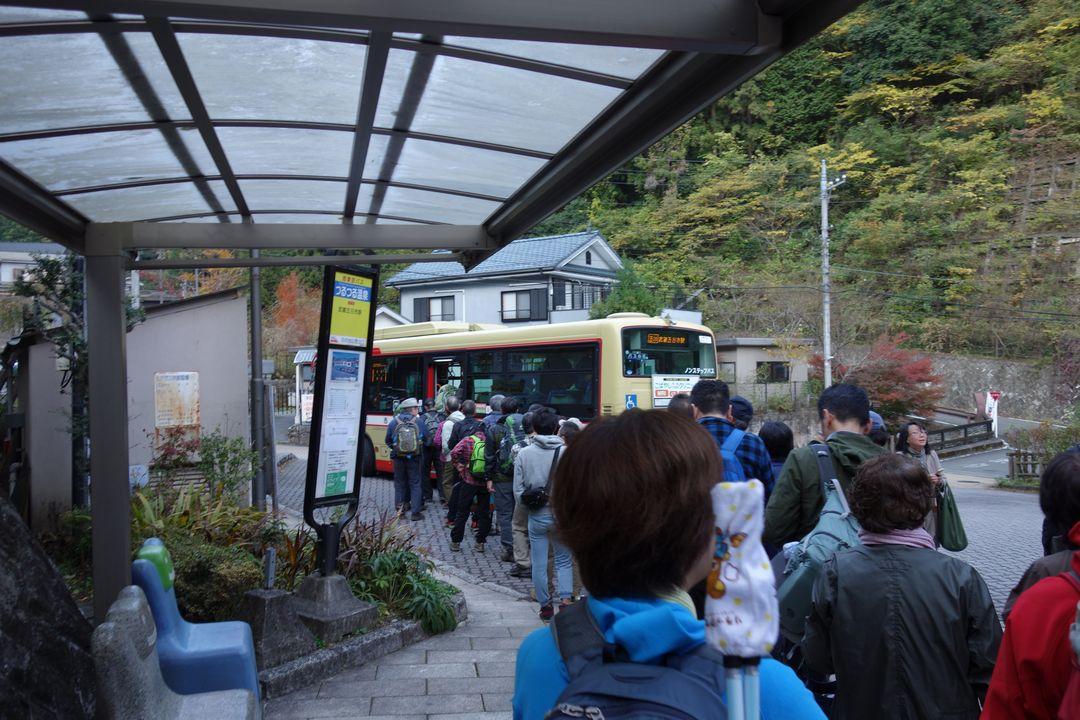 つるつる温泉のバス停