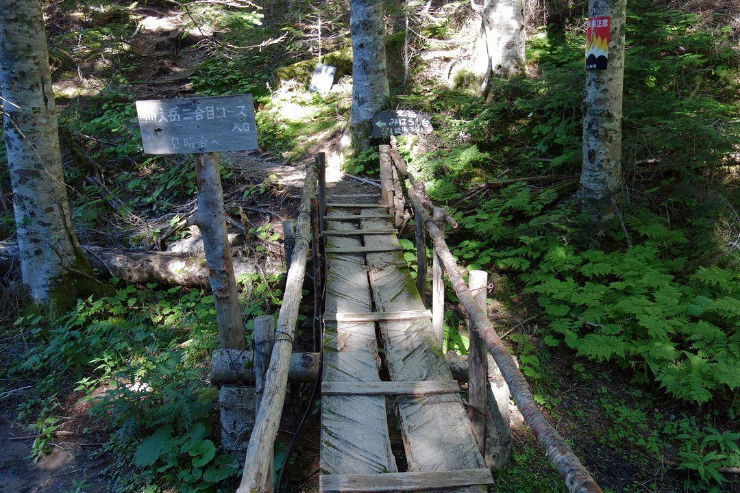 仙丈ケ岳の登山口