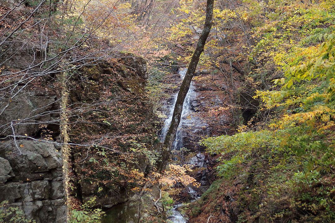 西沢渓谷 なれいの滝