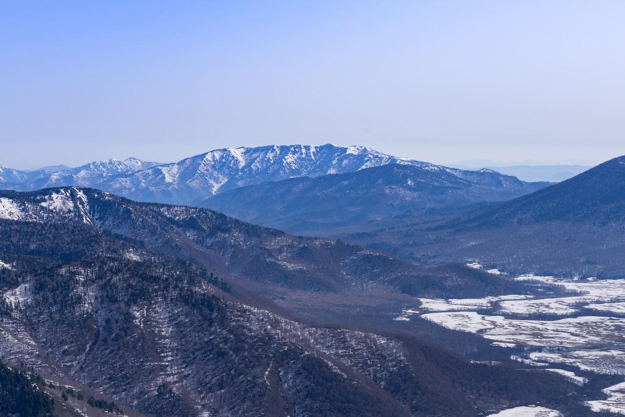 至仏山から見た会津駒ケ岳