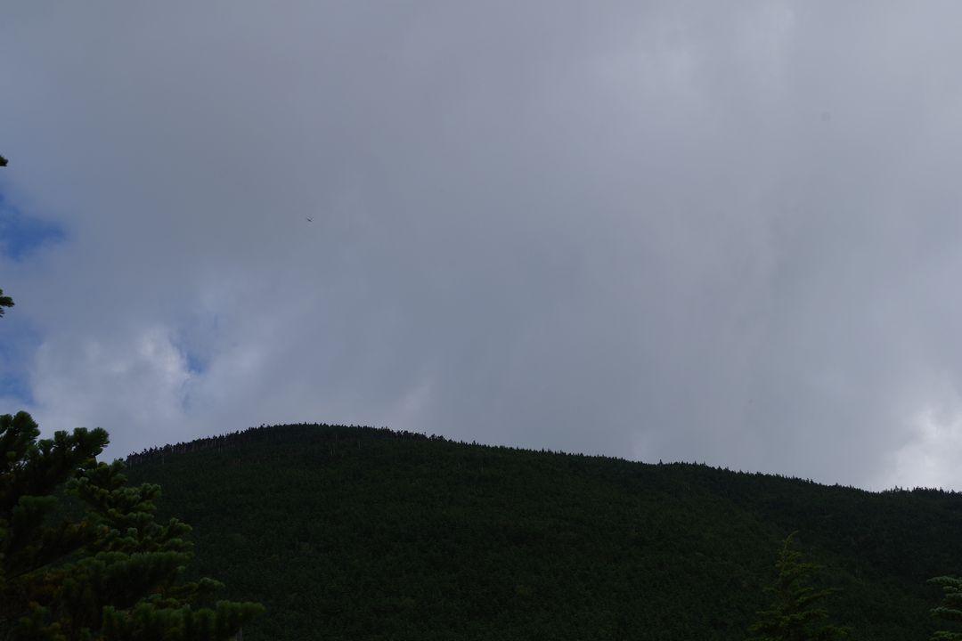 頭上を覆う暗雲