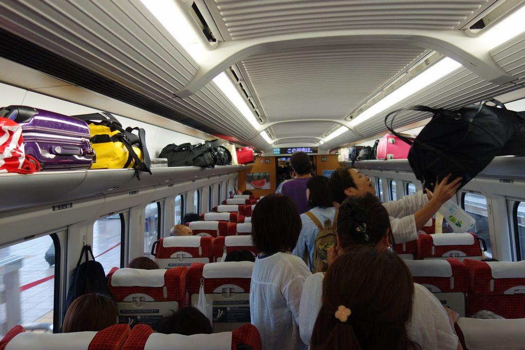 山形新幹線 車内の様子
