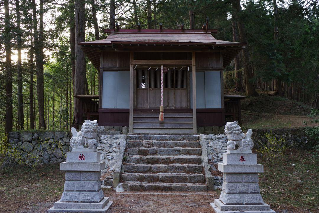 奥多摩 羽黒三田神社