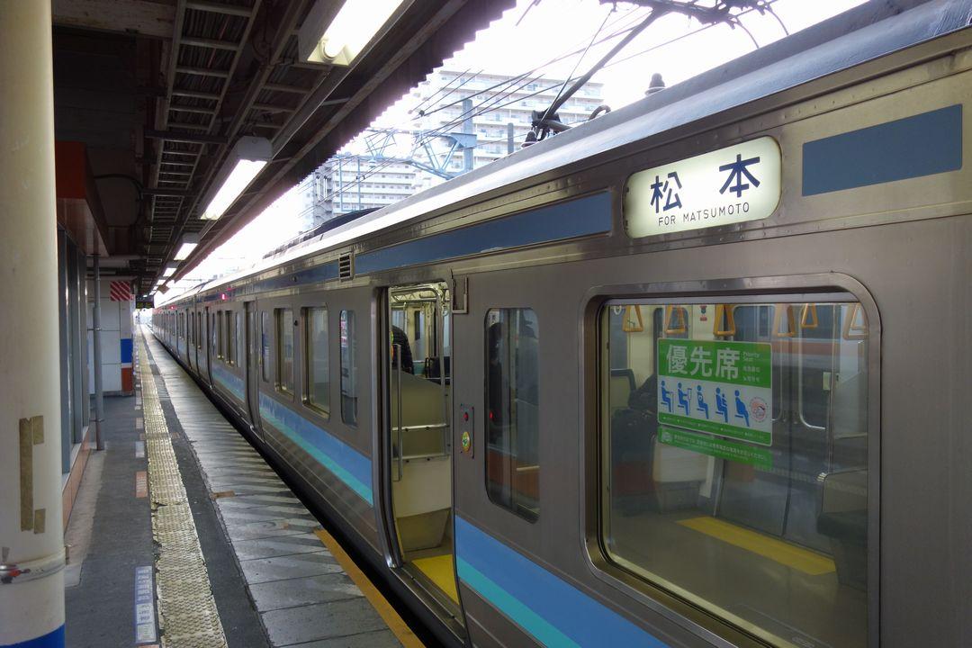 中央本線 松本行き普通列車