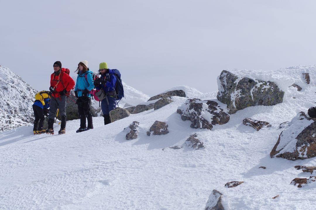 乗鞍岳 朝日岳の山頂