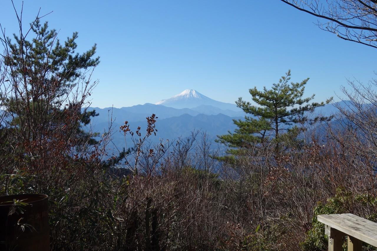 生籐山山頂からの展望