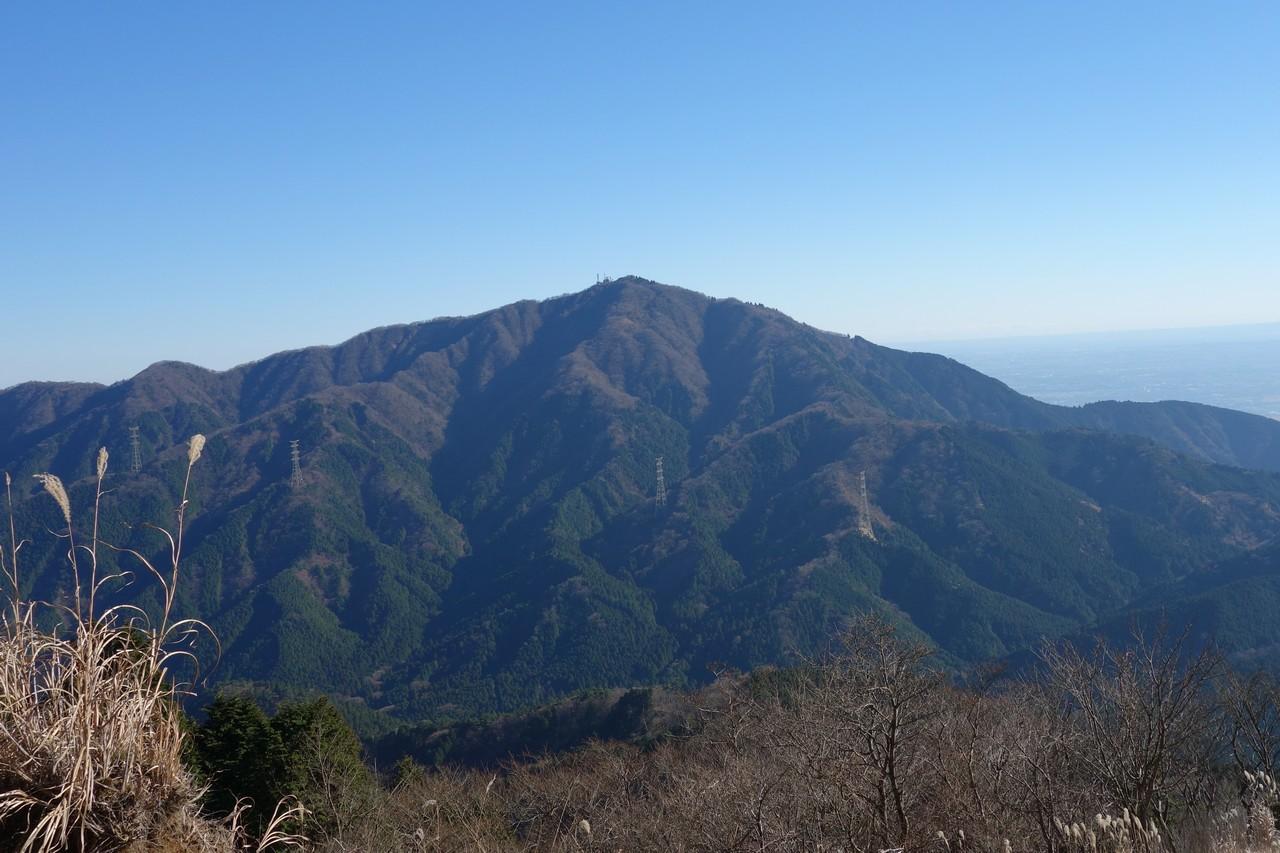 三ノ塔から見た大山