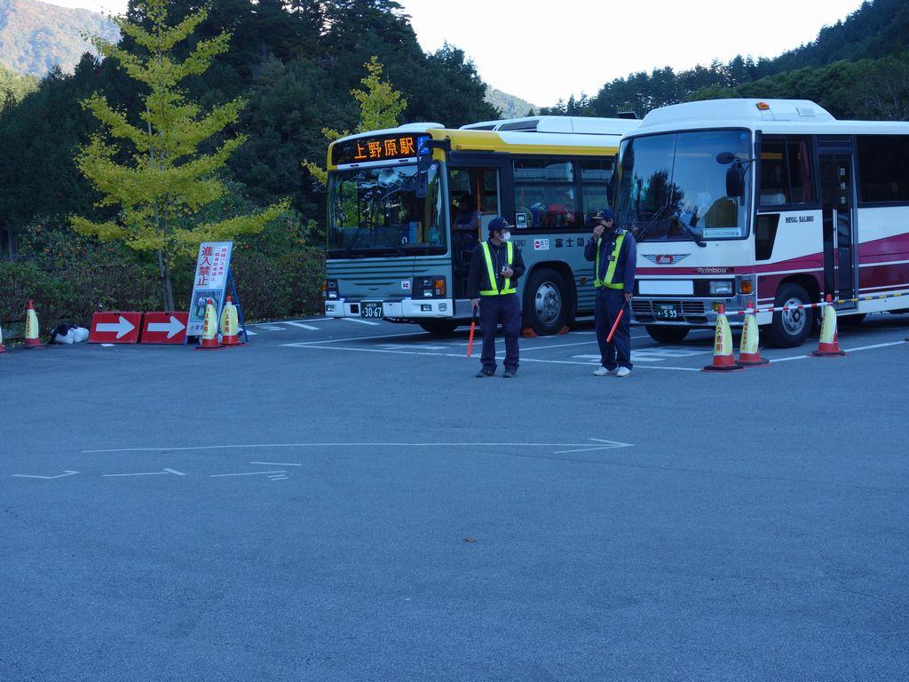 小菅の湯のバス乗り場