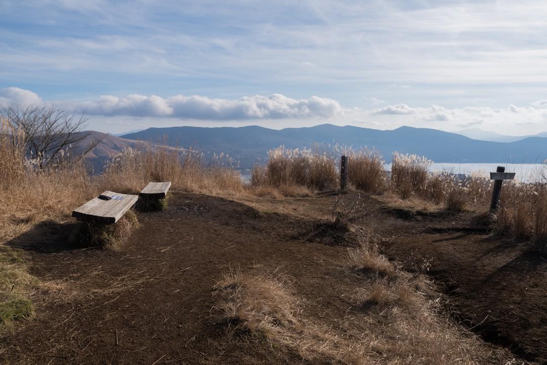平尾山山頂の様子