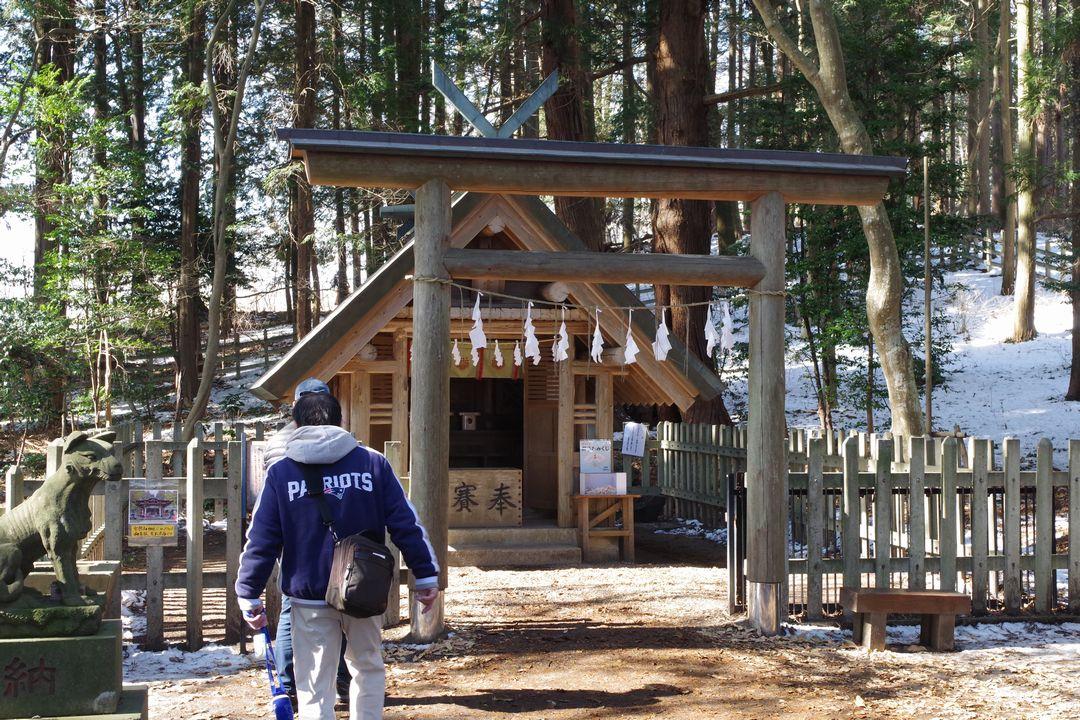 宝登山神社の本宮