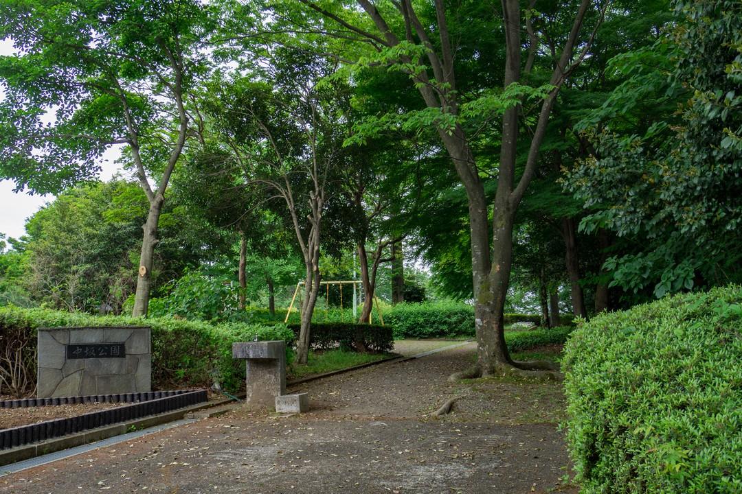 多摩市の中抜公園
