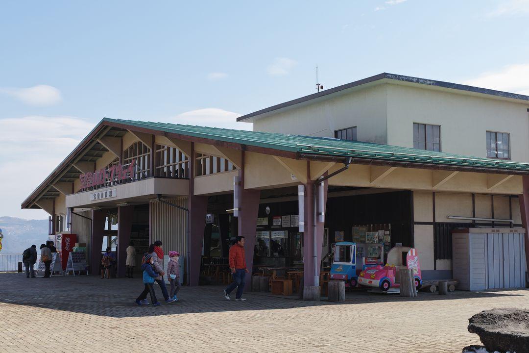 宝登山 ロープウェイ山頂駅