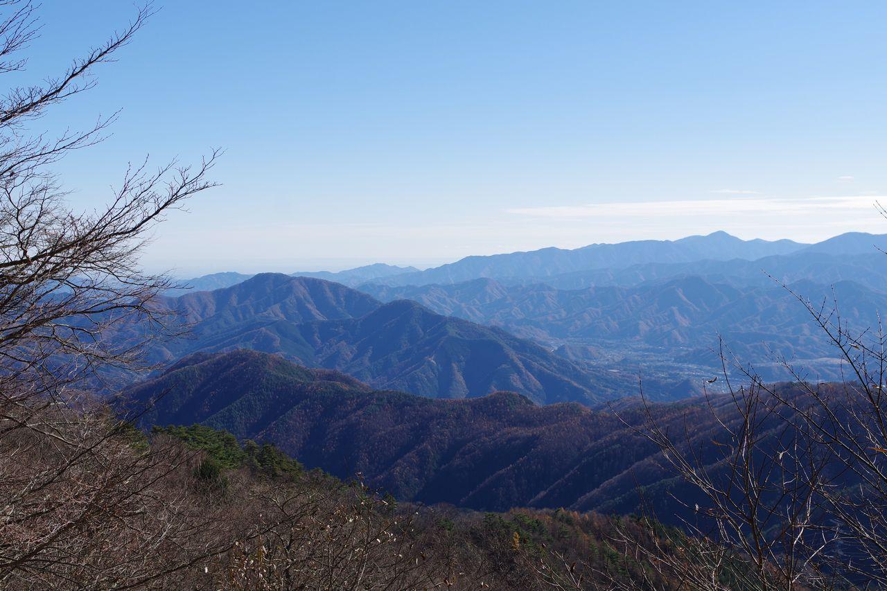 林道奈良子線からの展望