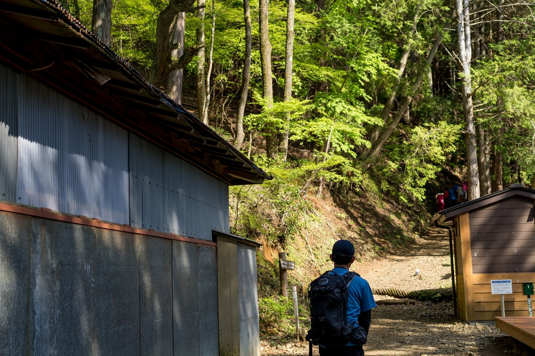 大倉尾根の観音茶屋
