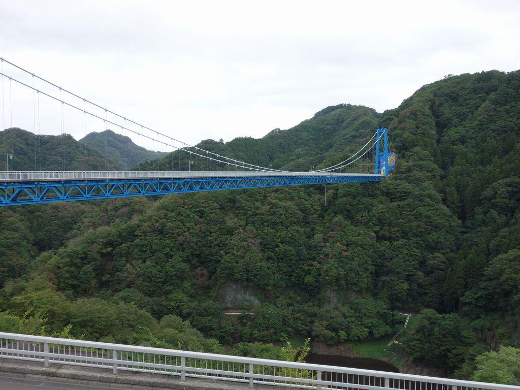 竜神大吊橋の全景