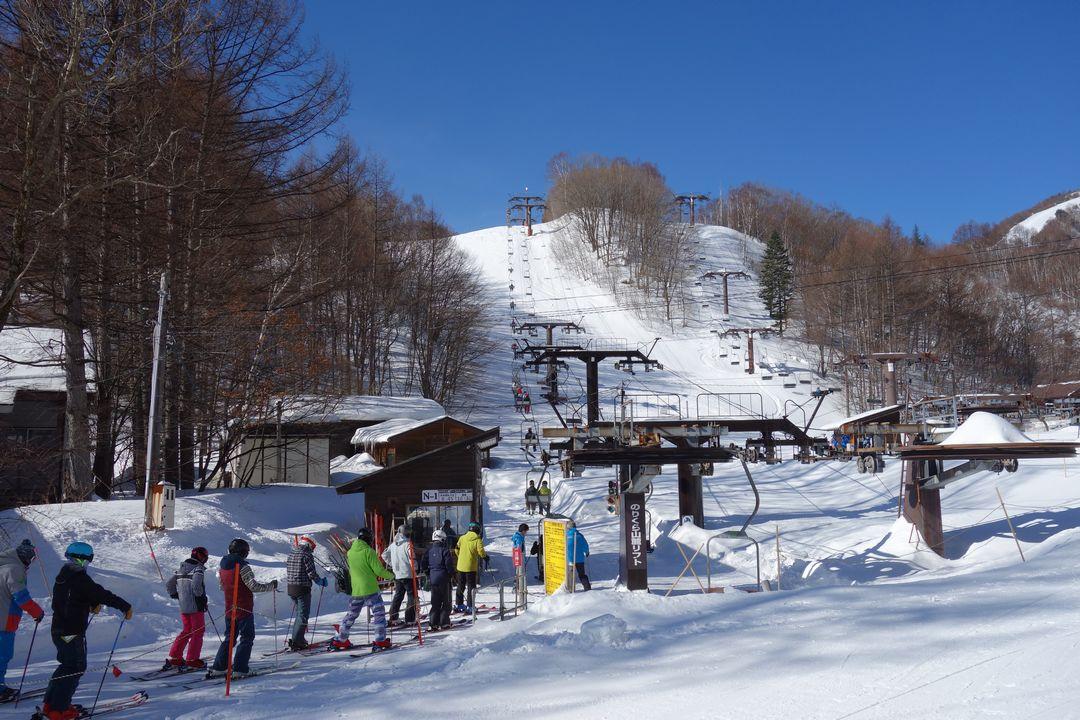 乗鞍高原スキー場のリフト