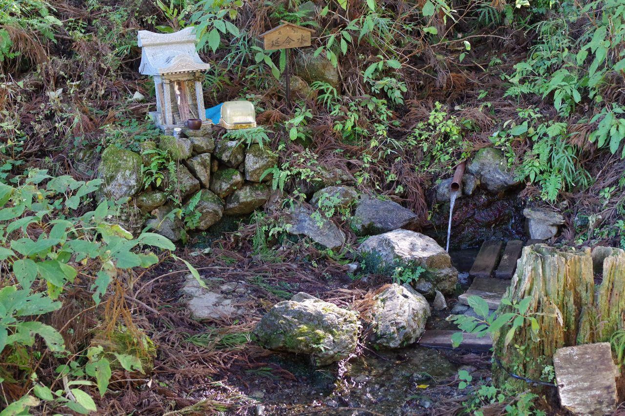 武甲山の延命水